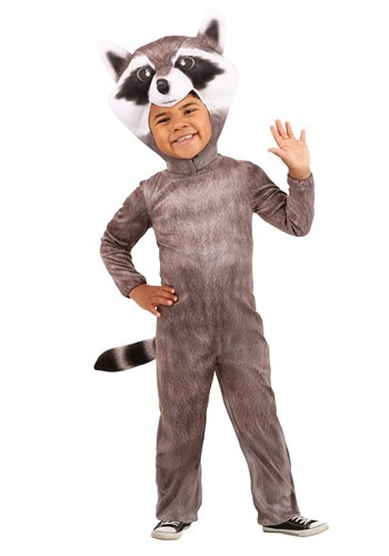 Click Here to buy Realistic Raccoon Toddler Costume from HalloweenCostumes, CDN Funds & Shipping