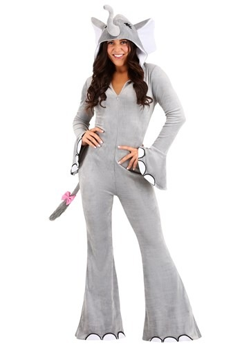 Wild Elephant Womens Costume
