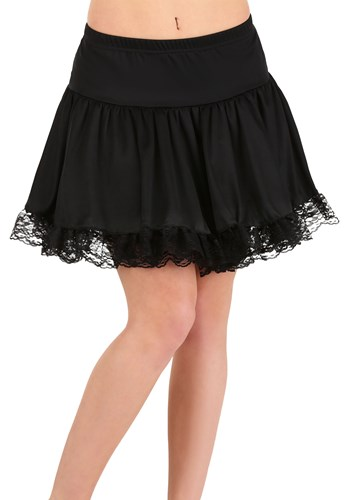 Click Here to buy Black Lace Petticoat for Women from HalloweenCostumes, CDN Funds & Shipping