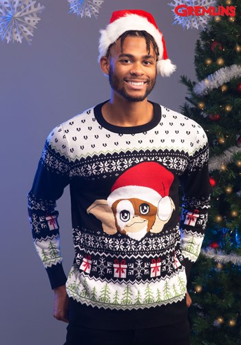 Gremlins Gizmo Claus Ugly Christmas Sweater update1