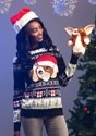 Gremlins Gizmo Claus Ugly Christmas Sweater alt1