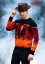 Nightmare on Elm Street Freddy Adult Halloween Sweater 1