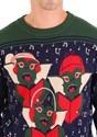 Adult Gremlins Caroling Trio Ugly Christmas Sweater alt3