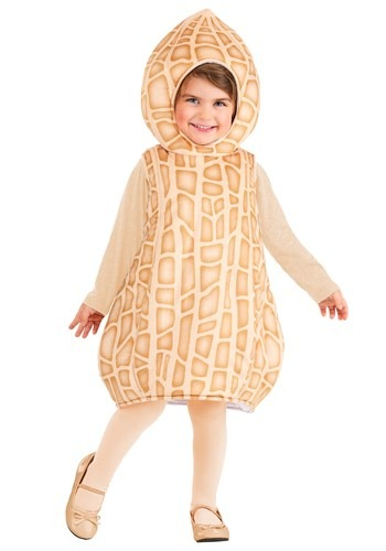 Click Here to buy Peanut Toddler Costume from HalloweenCostumes, CDN Funds & Shipping