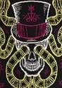 Voodoo Skull Halloween Sweater alt7