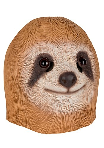 Click Here to buy Brown Sloth Mask for Adults from HalloweenCostumes, CDN Funds & Shipping