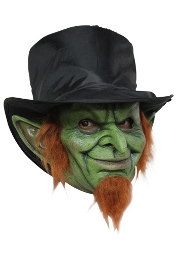 Click Here to buy Mad Goblin Mask Costume - Scary Leprechaun Mask from HalloweenCostumes, CDN Funds & Shipping