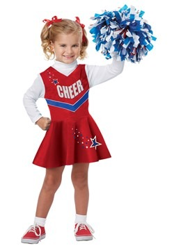 Toddler Classic Cheerleader Costume