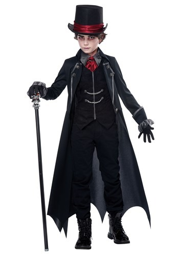 Gothic Vampire Costume for Boys