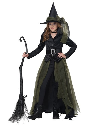 Cool Witch Costume for Girls