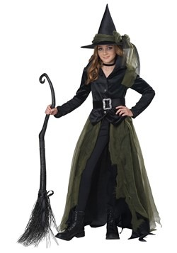 Girl's Cool Witch Costume