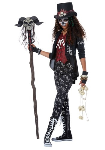 Click Here to buy Voodoo Charm Costume For Girls from HalloweenCostumes, CDN Funds & Shipping