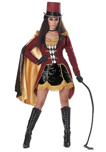 Click Here to buy Dazzling Ringmaster Womens Costume from HalloweenCostumes, CDN Funds & Shipping