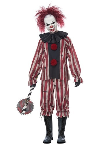 Mens Nightmare Clown Costume
