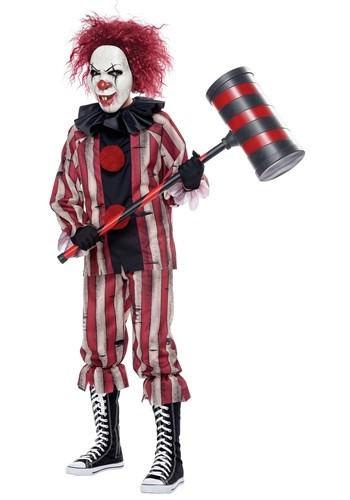 Nightmare Clown Costume for Boys