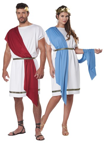 Click Here to buy Party Toga Costume for Adults from HalloweenCostumes, CDN Funds & Shipping