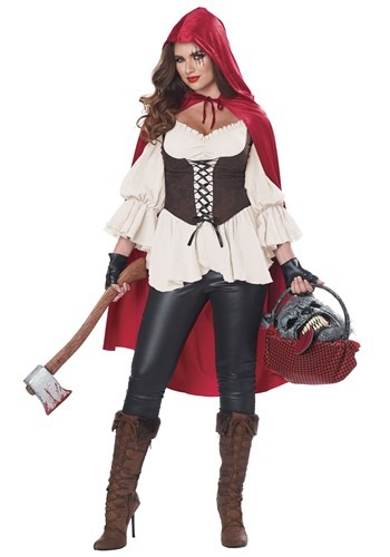 Aint Afraid of No Wolf Womens Costume