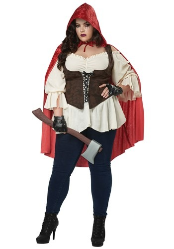 Click Here to buy Womens Plus Size Aint Afraid of No Wolf Costume from HalloweenCostumes, CDN Funds & Shipping