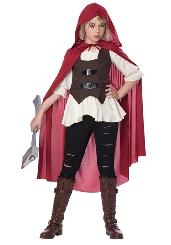 Click Here to buy Aint Afraid of No Wolf Girls Costume from HalloweenCostumes, CDN Funds & Shipping