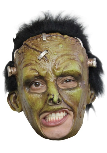 Click Here to buy Deluxe Frankie Mask - Frankenstein Costume Ideas from HalloweenCostumes, CDN Funds & Shipping