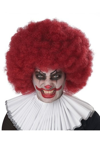 Click Here to buy Jumbo Maroon Afro Wig from HalloweenCostumes, CDN Funds & Shipping