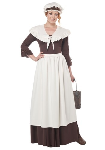 Womens Colonial Village Costume