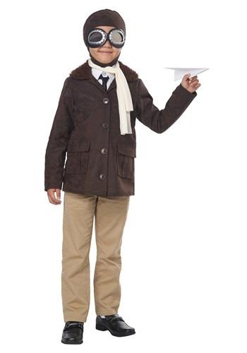 American Aviator Boys Costume