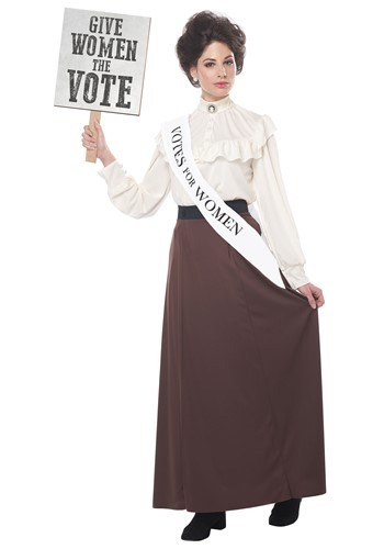 English Suffragette Womens Costume