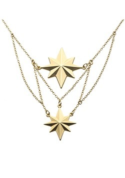 Captain Marvel Tier Mat Necklace