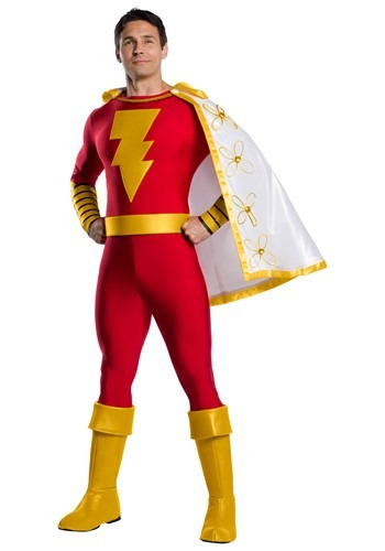 DC Classic Shazam Costume for Men