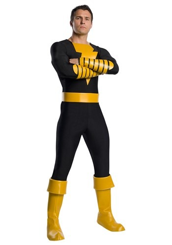 Click Here to buy Adult DC Classic Black Adam Costume from HalloweenCostumes, CDN Funds & Shipping