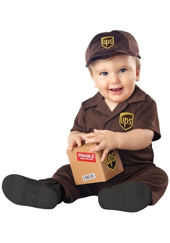 Click Here to buy UPS Costume for Babies from HalloweenCostumes, CDN Funds & Shipping