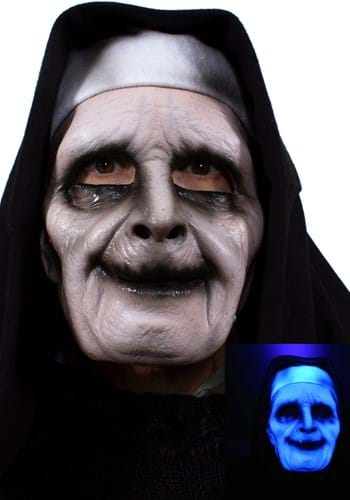 UV Ghostly Nun Mask