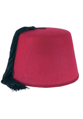 Click Here to buy Adult Deluxe Fez Hat from HalloweenCostumes, CDN Funds & Shipping