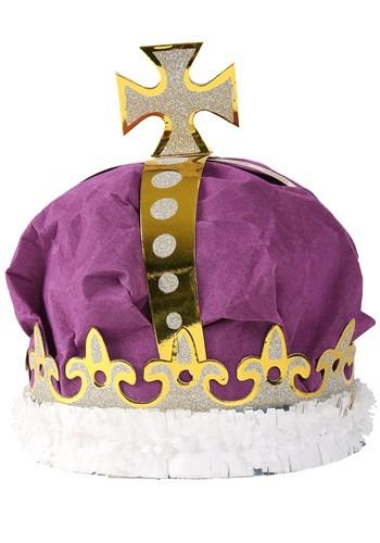 Adult Deluxe Purple Crown