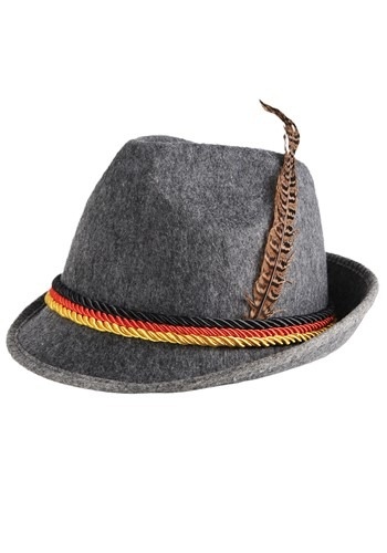 Gray German Alpine Hat