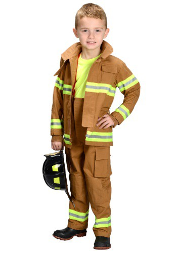 Click Here to buy Kids Firefighter Costume from HalloweenCostumes, CDN Funds & Shipping
