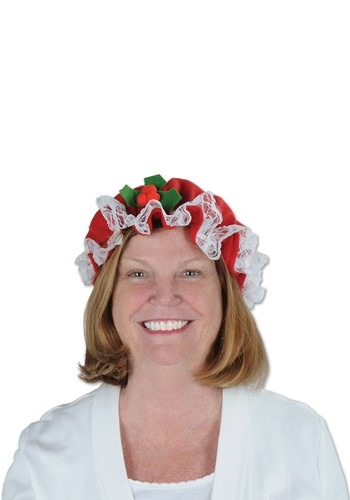 Click Here to buy Womens Mrs. Claus Hat from HalloweenCostumes, CDN Funds & Shipping