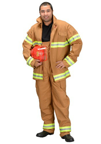 Click Here to buy Adult Firefighter Costume from HalloweenCostumes, CDN Funds & Shipping