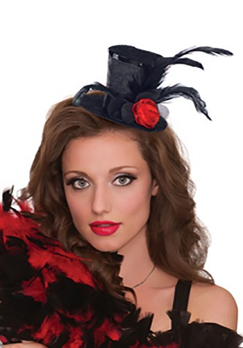 Click Here to buy Clip-On Mini Top Hat from HalloweenCostumes, CDN Funds & Shipping