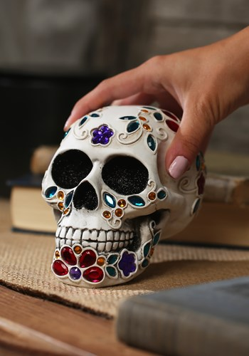 Decorative Jeweled Sugar Skull