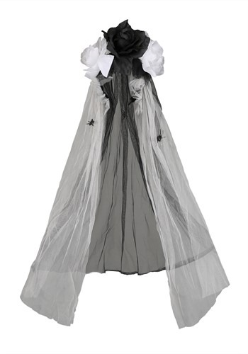 Click Here to buy Gothic Bridal Veil from HalloweenCostumes, CDN Funds & Shipping
