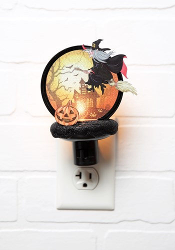 Witch Halloween Decor Night-Light