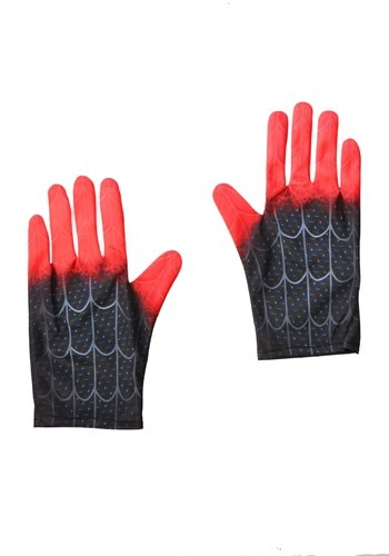 Click Here to buy Kids Spider-Man Into the Spider-Verse Miles Morales Gloves from HalloweenCostumes, CDN Funds & Shipping