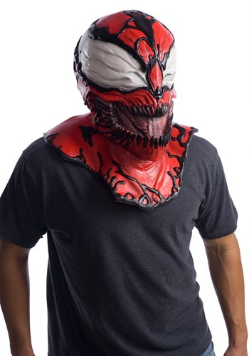 Click Here to buy Marvel Adult Carnage Overhead Mask Accessory from HalloweenCostumes, CDN Funds & Shipping