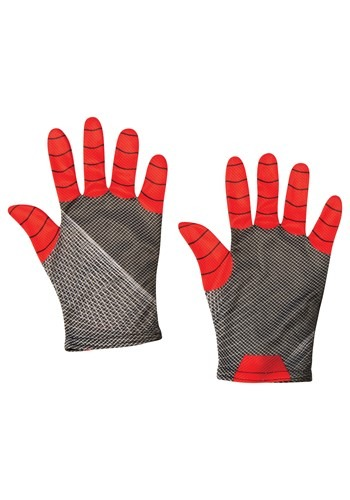 Click Here to buy Kids Spider-Man Far From Home Red and Black Gloves from HalloweenCostumes, CDN Funds & Shipping