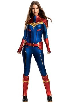 Captain Marvel Grand Heritage Womens Costume