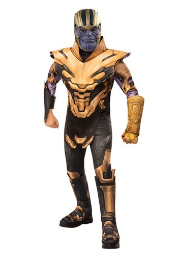 Click Here to buy Deluxe Avengers Endgame Thanos Boys Costume from HalloweenCostumes, CDN Funds & Shipping
