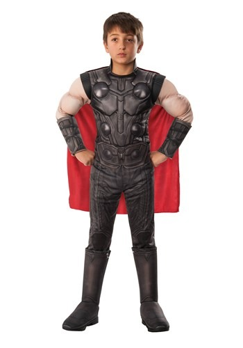 Click Here to buy Avengers Endgame Deluxe Thor Boys Costume from HalloweenCostumes, CDN Funds