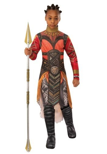 Click Here to buy Girls Avengers Endgame Dora Milaje Okoye Costume from HalloweenCostumes, CDN Funds & Shipping